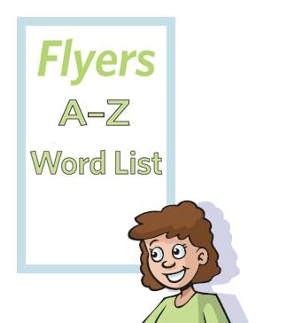 flyers word list copia
